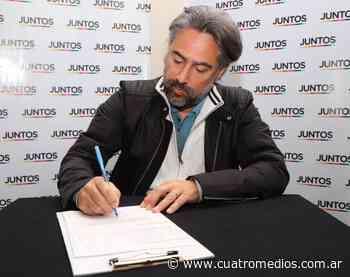Quilmes: Di Giuseppe es precandidato a diputado de la Nación por Juntos de Diego Santilli - Cuatro Medios
