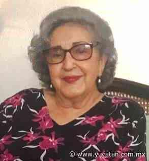 Fallece en Mérida la señora Josefina Centeno García viuda de Ramírez Valenzuela - El Diario de Yucatán