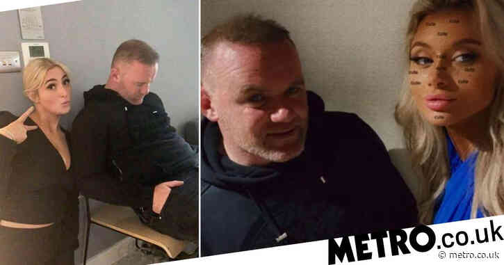 Wayne Rooney 'tells police he was blackmailed' over leaked hotel pictures with three women