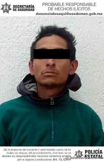 Detienen a posible implicado en robo con violencia en Tenancingo - Noticiario Así Sucede