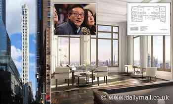 Brooklyn Nets owner Joe Tsai is revealed as the mystery buyer of two floors in NYC skyscraper