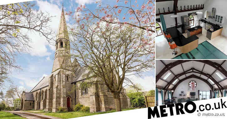 You could buy this 150-year-old converted church for the same price as a London flat
