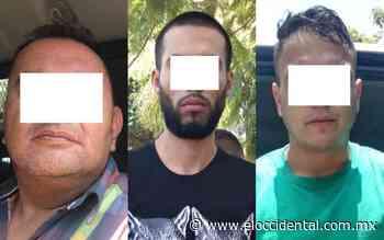 Detienen a tres y recuperan tres vehículos robados, en Santa Elena Alcalde - El Occidental