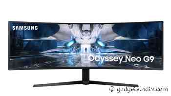 Samsung Odyssey Neo G9 Curved Gaming Monitor With Quantum Mini LED Technology Launched