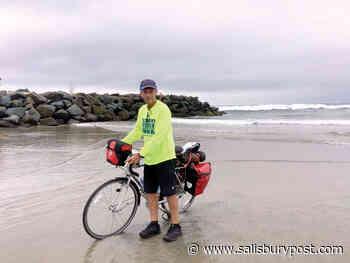 David Freeze begins cross-country cycling journey in San Diego - Salisbury Post - Salisbury Post