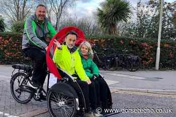 Cycling Without Age buys new trishaw bike to cover Bridport - Dorset Echo