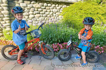 Two Maple Ridge boys cycling to raise funds for children's cancer research – Maple Ridge News - Maple Ridge News
