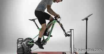 Rizer tilts your bike to make stationary cycling more realistic - New Atlas