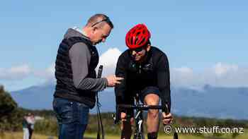 New Zealand paralympics road cycling team doing the hard yards at the Taranaki Cycle Track - Stuff.co.nz
