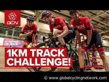 GCN Track Cycling Challenge | Velodrome Rookies Try The Kilo! | GCN - Global Cycling Network