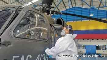 Al servicio de los colombianos estará la primera aeronave pintada con insumos nacionales - BC NOTICIAS - BC Noticias