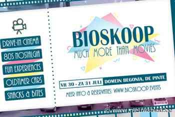 In De Pinte kan je dit weekend naar de cinema zoals in de jaren '80