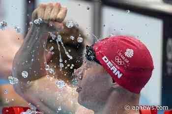 Tom Dean, del coronavirus al oro olímpico - AP News