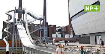 Autostadt in Wolfsburg: Neue Riesenrutsche ist eröffnet - Neue Presse