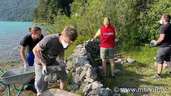 Walchensee: Wasserwacht holt Familie von verbotener Insel - dreistes Bauwerk entdeckt - Merkur Online