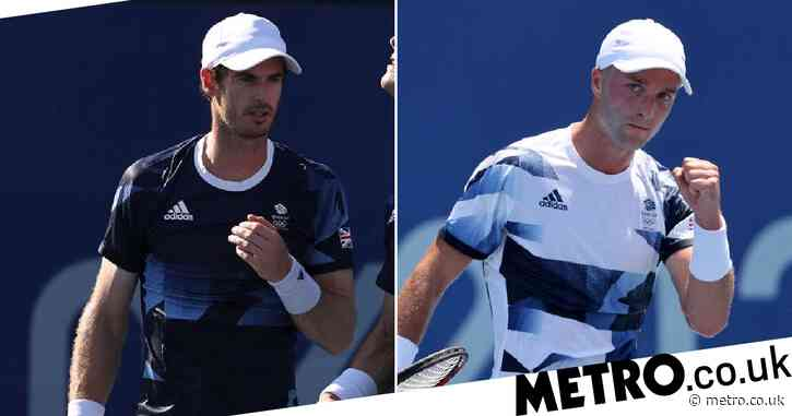 Andy Murray provides update on thigh injury as Liam Broady continues shock Tokyo 2020 run