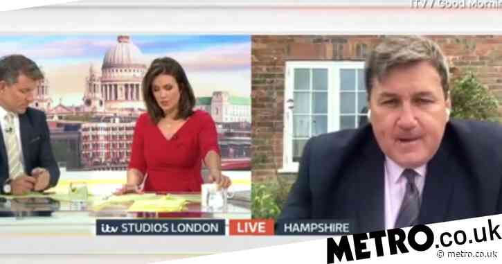 Susanna Reid rips into government minister over police cuts: 'That's completely disingenuous'
