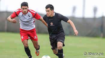 Universitario: Iván Santillán jugó en partido amistoso ante Melgar - Libero.pe