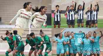 ¡Unas máquinas! Así llegan Universitario y Alianza Lima al clásico del fútbol femenino - Diario Depor
