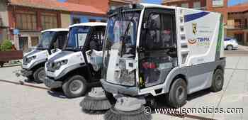 Valencia de Don Juan cuenta ya con un nuevo servicio de limpieza viaria - leonoticias.com