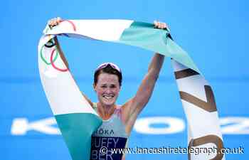 Triathlete Flora Duffy, whose mother is from Burnley, wins Olympic gold for Bermuda