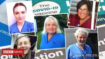 Covid: The healthcare heroes vaccinating Scotland - BBC News