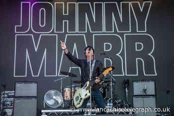 Smiths legend Johnny Marr announces Blackburn solo date