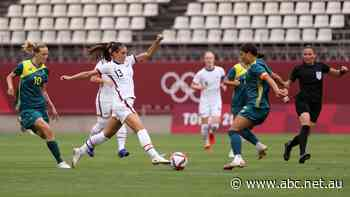 Live: Matildas score safe draw with USA in final group game, Opals lose opener