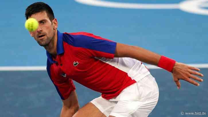 Olympia 2021 Tokio: Novak Djokovic: Wann ich mit Steffi Graf spreche - BILD