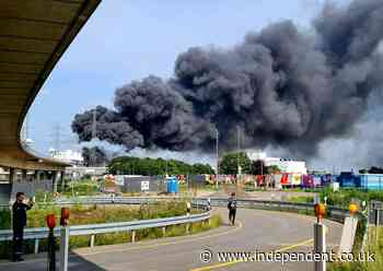 Five people missing and several injured in German chemical factory explosion classed as 'extreme threat'