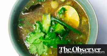 Nigel Slater's recipe for a hot and sour summer soup