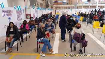 Este lunes fueron citadas 3.000 personas en Villa Mercedes - Agencia de Noticias San Luis