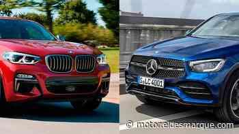 """BMW X4 o Mercedes GLC Coupé: """"¿Cuál es mejor?"""". Y hay vencedor - ElDesmarque Motor"""