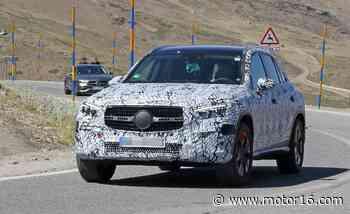 El Mercedes GLC empieza a mostrar detalles - Motor16