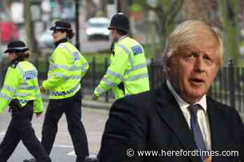 Boris Johnson outlines plans to give greater stop and search powers to police