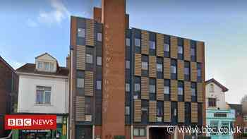 Empty student flats used to shelter rough sleepers