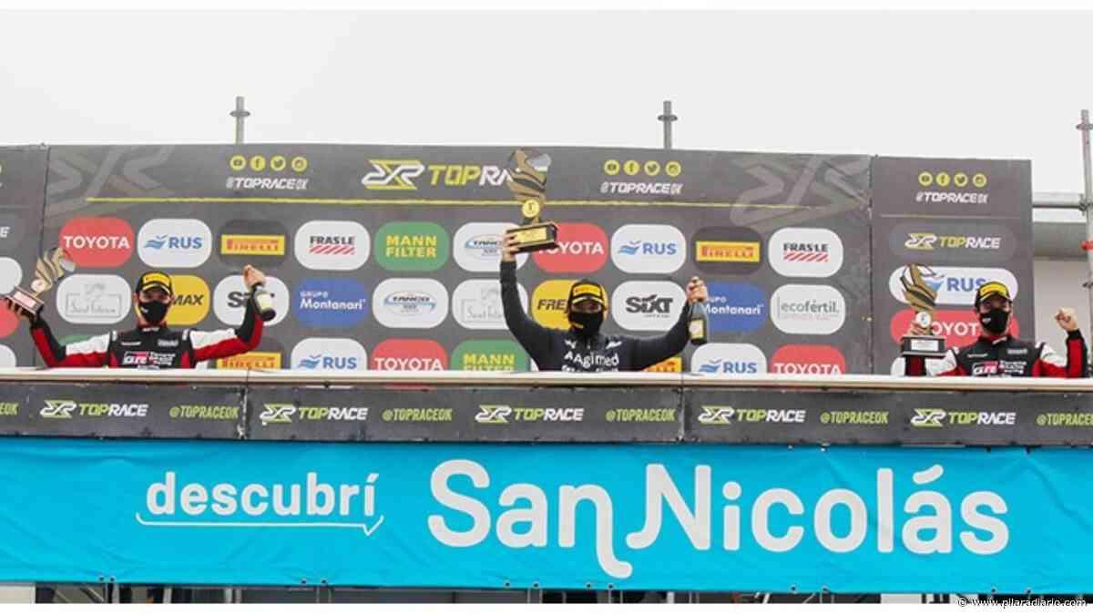 Azar sumó otro podio y sigue líder del Top Race - Pilar a Diario