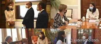 Pilar Llop se reúne con los principales operadores jurídicos - El Derecho