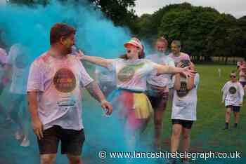 Burnley Colour Dash raises £15,000 for Pendleside Hospice
