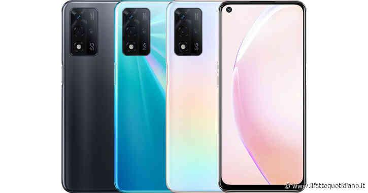 Oppo A93s 5G, ufficiale il nuovo smartphone di fascia media