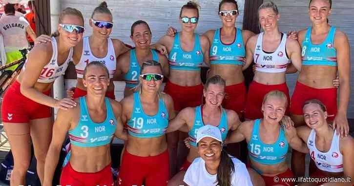 """""""Continuate a rifiutarvi di mettere il bikini, pago io la multa"""": la popstar Pink a favore delle atlete norvegesi"""