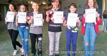 Sechstklässler der Gemeinschaftsschule Marpingen sammeln über 600 Euro für den guten Zweck - Saarbrücker Zeitung