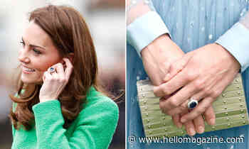 Why Kate Middleton altered Princess Diana's £123k sapphire engagement ring