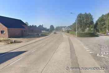 Tijdelijke verkeerslichten op Feynend (Mol) - Het Nieuwsblad