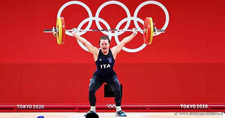 Giorgia Bordignon argento nel sollevamento pesi a Tokyo 2021: medaglia inattesa per la varesina