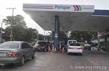 Combustible costará G. 1.000 menos en Petropar de Villa Elisa hoy - Hoy