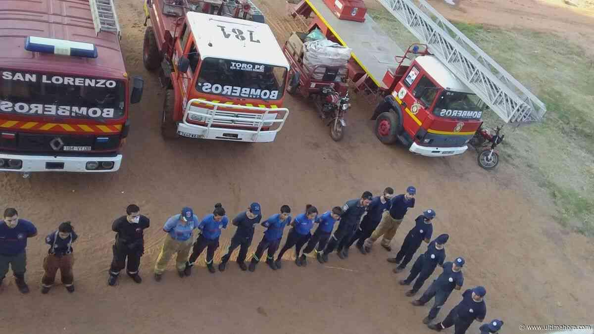 Voluntarios piden renuncia de autoridades de los bomberos de San Lorenzo - ÚltimaHora.com