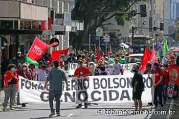 Manifestantes fazem ato contra o Governo Bolsonaro em Juiz de Fora - Tribuna de Minas