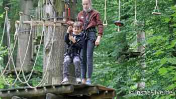 Ferienpass-Start im Kletterwald Nettetal ein voller Erfolg - osna.live