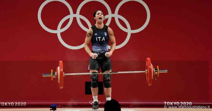 Giorgia Bordignon argento nel sollevamento pesi a Tokyo 2021: doppio nuovo record nazionale e medaglia inattesa per la varesina